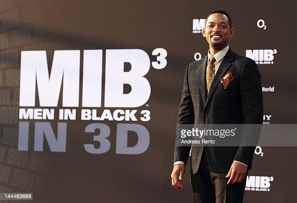 Will Smith arrives for the Men In Black 3 Germany Premiere at O2 World on May 14 2012 in Berlin Germany