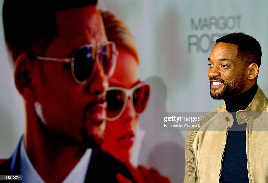 Will Smith attends a special screening of 'Focus' at Vue West End on February 11, 2015 in London, England.