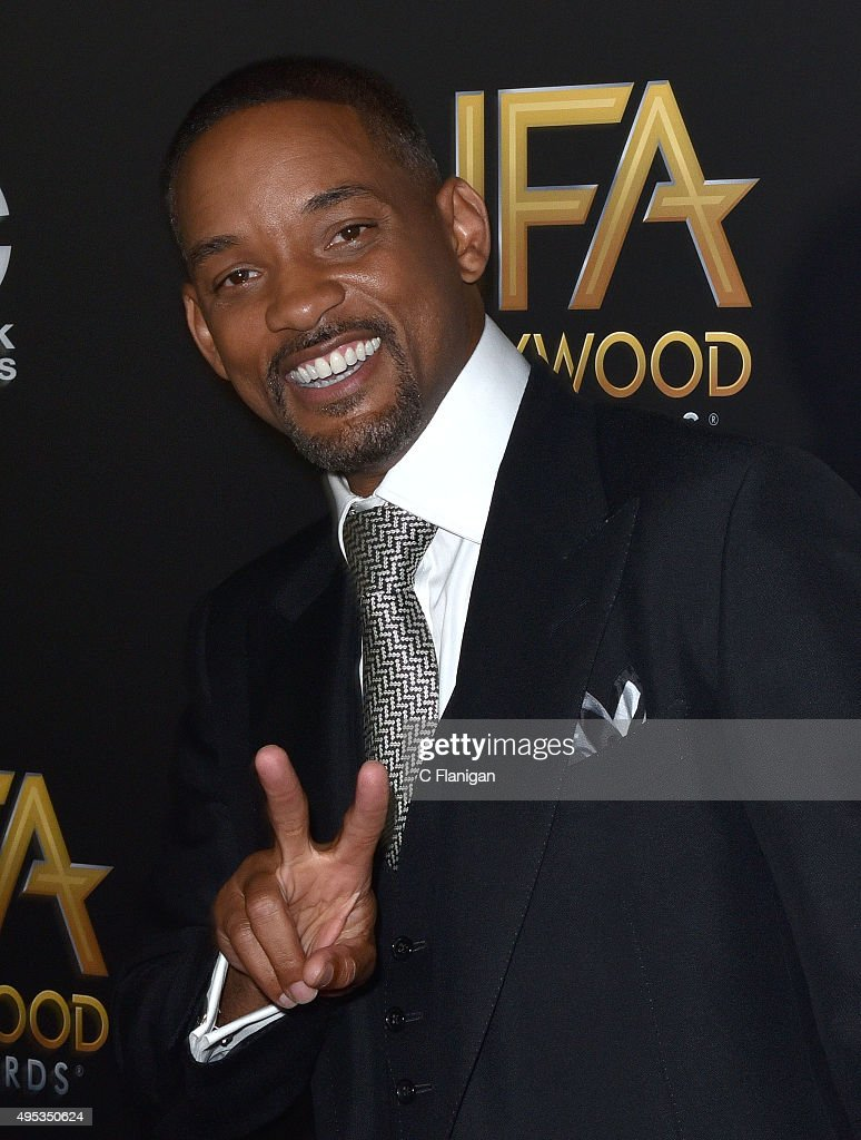 Will Smith attends the 19th Annual Hollywood Film Awards at The Beverly Hilton Hotel on November 1, 2015 in Beverly Hills, California.