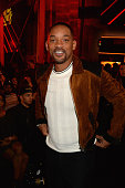 Will Smith attends the 2016 MTV Movie Awards at Warner Bros Studios on April 9 2016 in Burbank California MTV Movie Awards airs April 10 2016 at 8pm...
