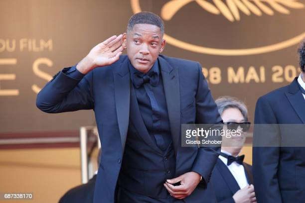 Will Smith attends the 70th Anniversary of the 70th annual Cannes Film Festival at Palais des Festivals on May 23 2017 in Cannes France