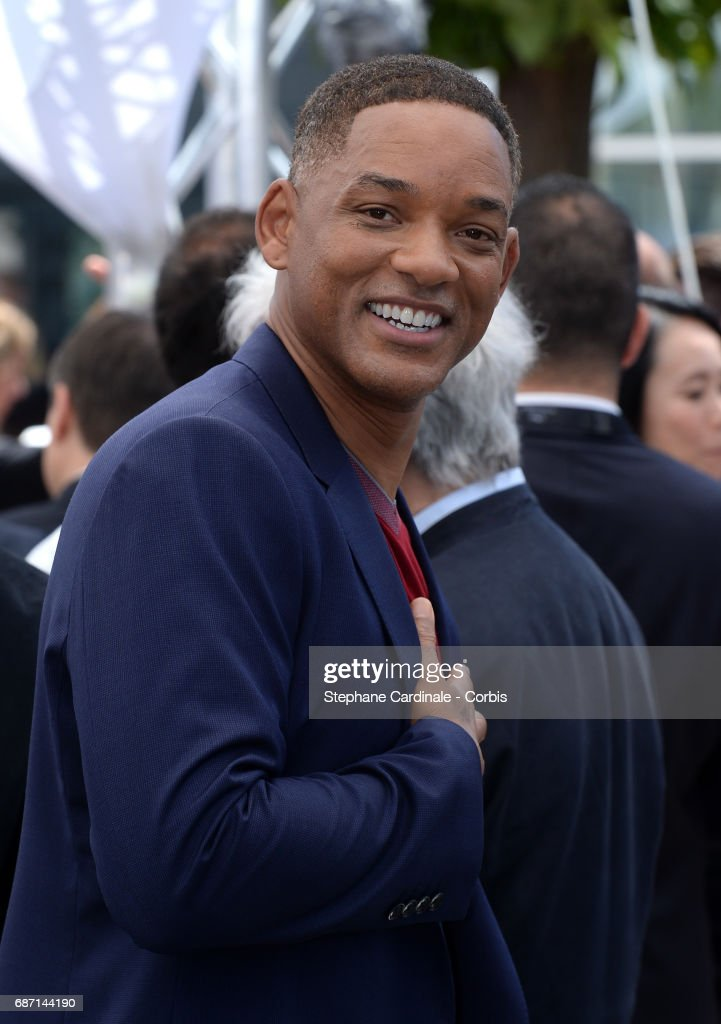 Will Smith attends the 70th Anniversary Photocall during the 70th annual Cannes Film Festival at Palais des Festivals on May 23, 2017 in Cannes, France.