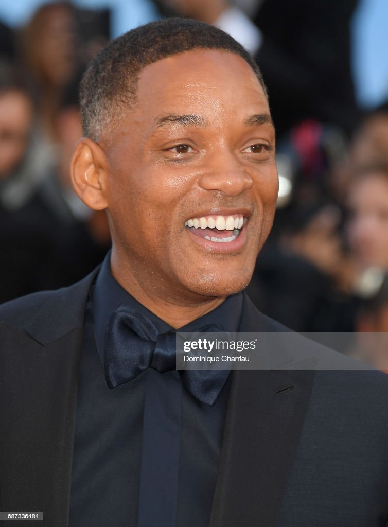 Will Smith attends the 70th Anniversary screening during the 70th annual Cannes Film Festival at Palais des Festivals on May 23, 2017 in Cannes, France.