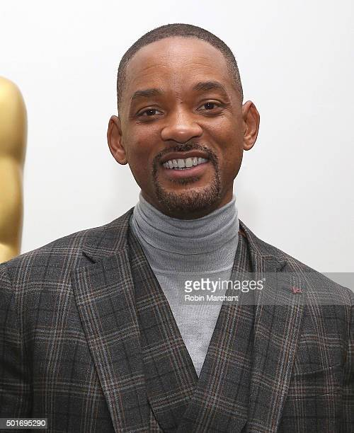 Will Smith attends The Academy Of Motion Picture Arts And Sciences Hosts An Official Academy Screening Of CONCUSSION on December 16 2015 in New York...
