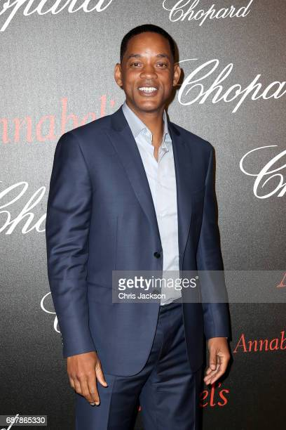Will Smith attends the Annabel's Chopard Party during the 70th annual Cannes Film Festival at Martinez Hotel on May 24 2017 in Cannes France