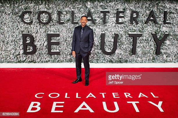 Will Smith attends the European Premiere of 'Collateral Beauty' at Vue Leicester Square on December 15 2016 in London England