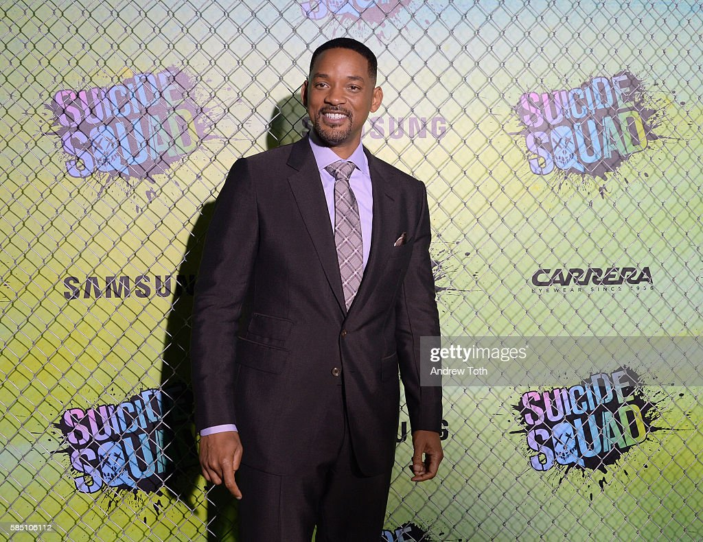 Will Smith attends the 'Suicide Squad' World Premiere at The Beacon Theatre on August 1, 2016 in New York City.