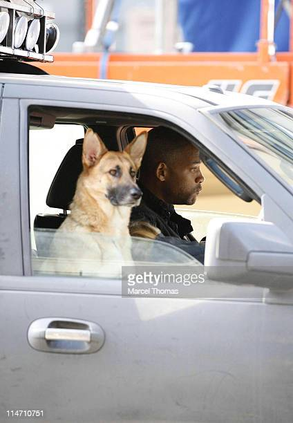 Will Smith during Will Smith on the Set of 'I Am Legend' October 2 2006 in New York City New York United States