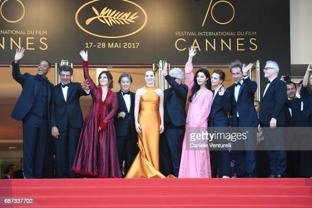 Will Smith Gabriel Yared Agnes Jaoui Park Chanwook Jessica Chastain Pedro Almodovar Fan Bingbing Maren Ade Paolo Sorrentino and Director of the...