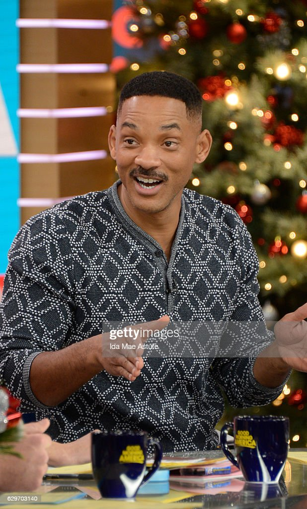 AMERICA - Will Smith is a guest on 'Good Morning America,' Monday, December 12, 2016, airing on the ABC Television Network. WILL