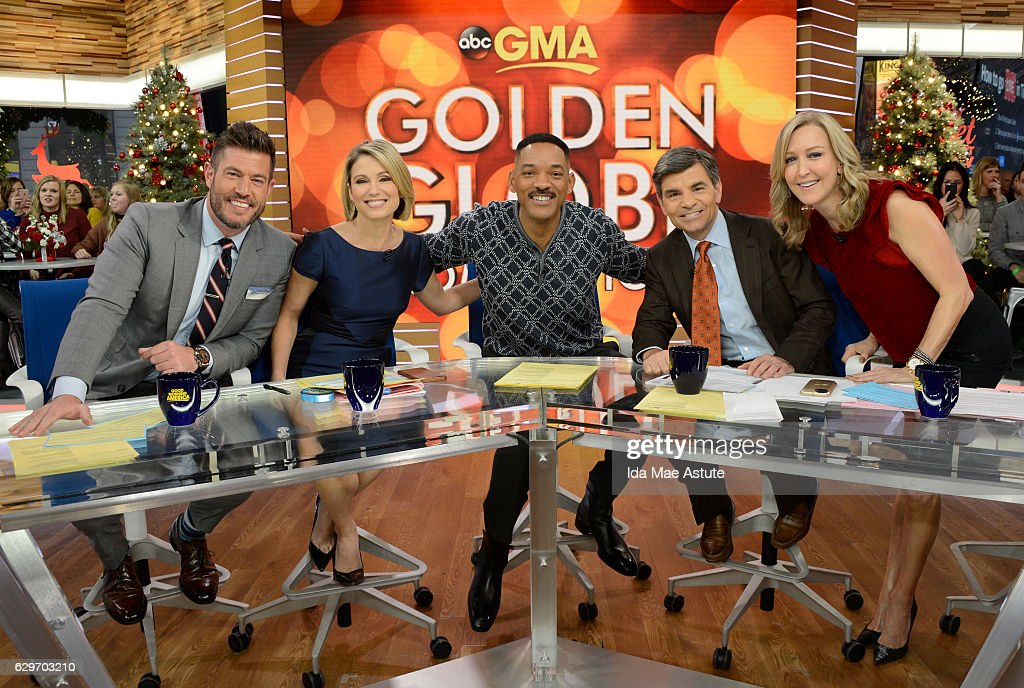 AMERICA - Will Smith is a guest on 'Good Morning America,' Monday, December 12, 2016, airing on the ABC Television Network. JESSE