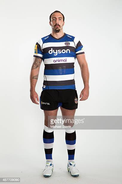 Will Spencer of Bath poses for a picture during the BT Photo Shoot at Farleigh House on August 28 2014 in Bath England