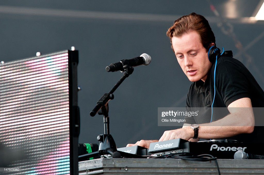 Will 'Status' Kennard of Chase and Status performs onstage at Ibiza 123 Festival Rocktronic Sunset Strip on July 1 2012 in Ibiza Spain
