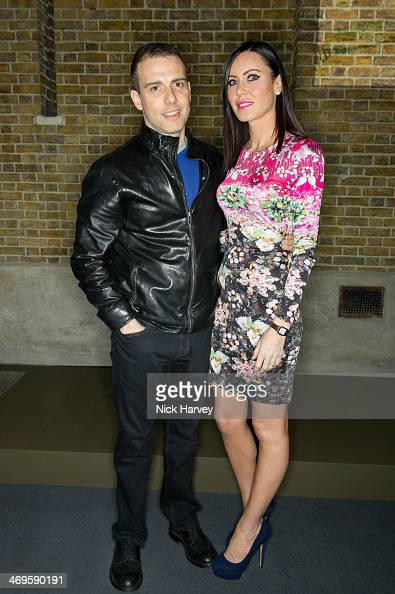 Will Stoppard and Linzi Stoppard attend the Belstaff presentation at London Fashion Week AW14 at The Serpentine Sackler Gallery on February 15 2014...