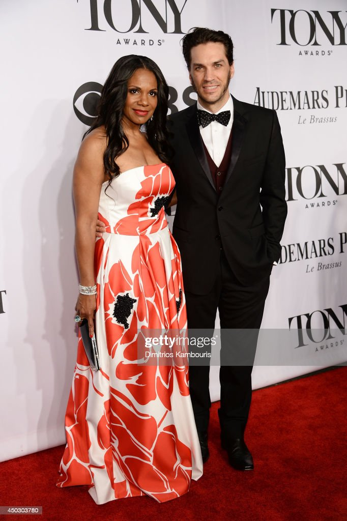 Will Swenson and actress <a gi-track='captionPersonalityLinkClicked' href=/galleries/search?phrase=Audra+McDonald&family=editorial&specificpeople=212782 ng-click='$event.stopPropagation()'>Audra McDonald</a> attends the 68th Annual Tony Awards at Radio City Music Hall on June 8, 2014 in New York City.