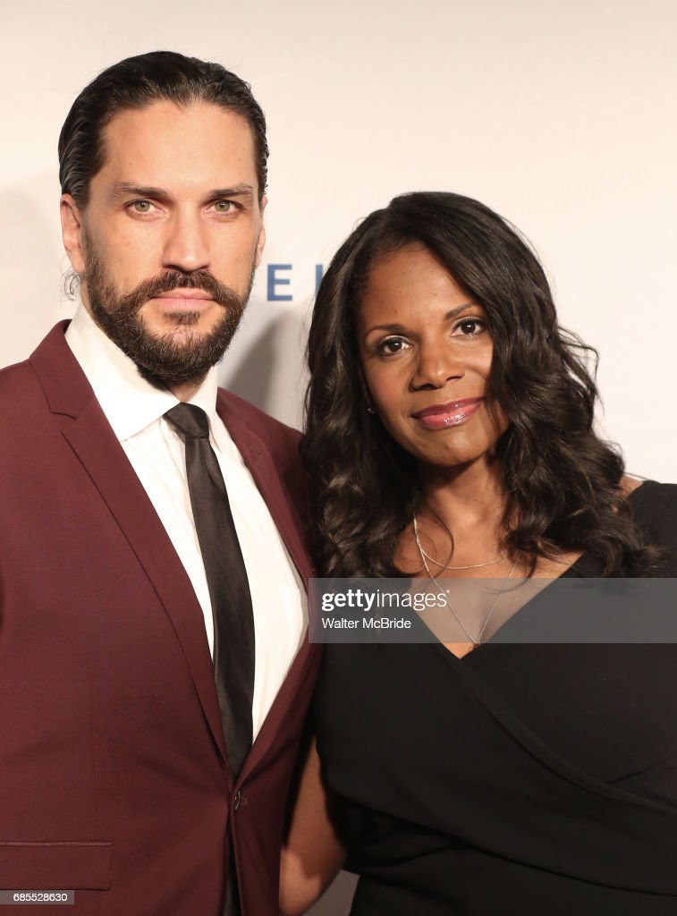 Will Swenson and Audra McDonald attend the 83rd Annual Drama League Awards Ceremony at Marriott Marquis Times Square on May 19, 2017 in New York City.