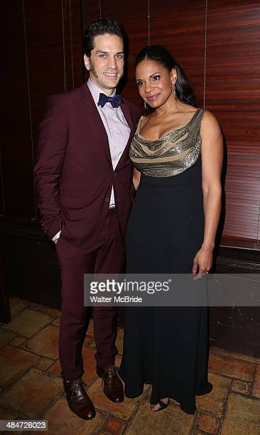 Will Swenson and Audra McDonald attend the Broadway Opening Night After Party for 'Lady Day at Emerson's Bar Grill' at The Redeye Grill on April 13...
