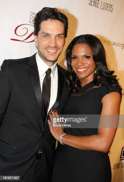 Will Swenson and wife Audra McDonald attend The Drama League's 29th Annual Musical Celebration honoring Audra McDonald at The Pierre Hotel on...