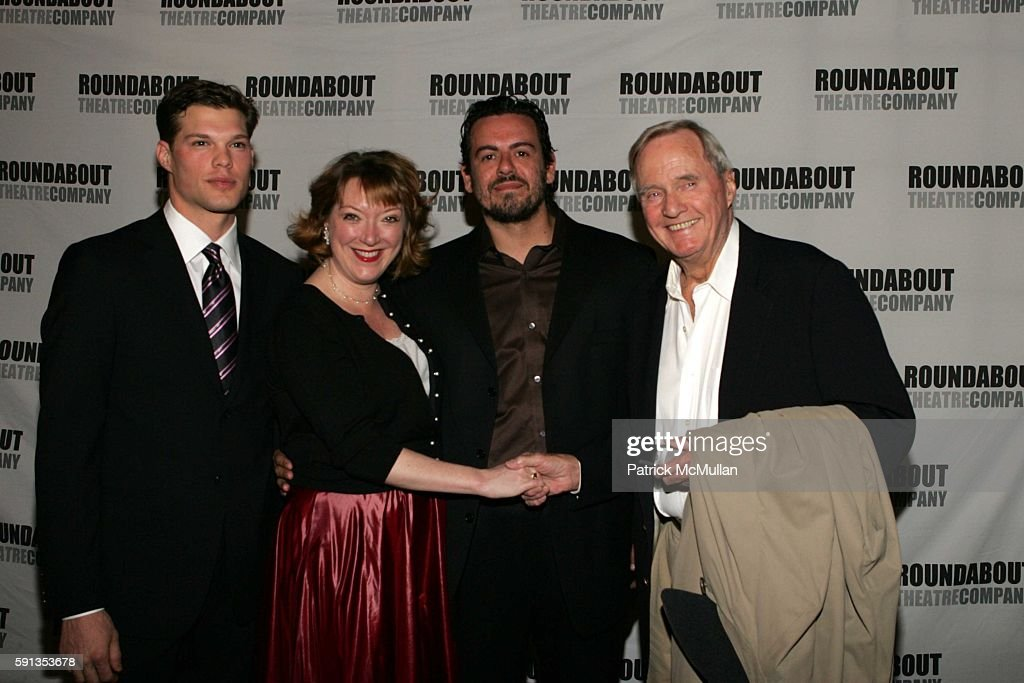 Will Toale Kristine Nielsen Frank Pando and John Carter attend Opening Night of 'A Streetcar Named Desire' arrivals at Studio 54 on April 26 2005 in...
