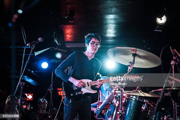 Will Toledo of Car Seat Headrest performs at 100 Club on JUNE 21 2016 in London England
