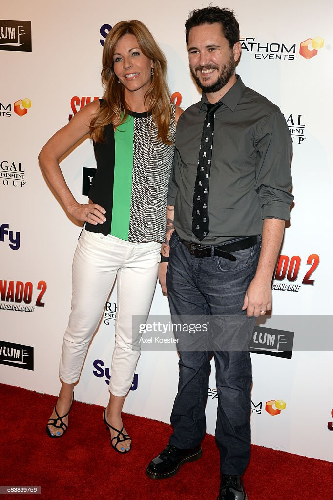Will Wheaton arrives to the premiere of Sharknado 2 The Second One held at the Regal Cinemas at LA Live Thursday evening
