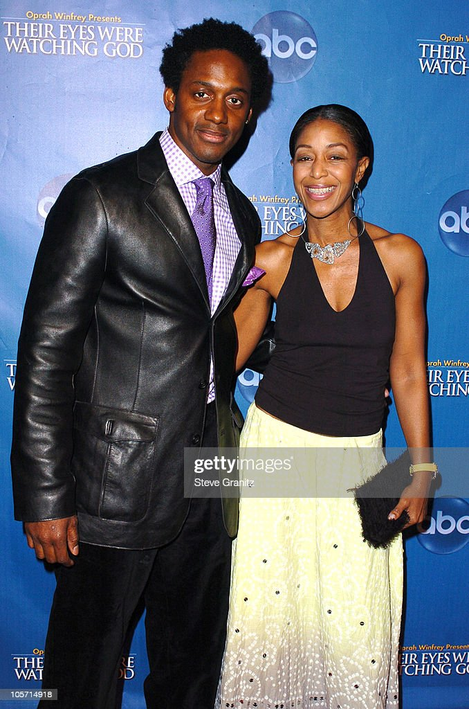 Will Young and Robi Reed during 'Their Eyes Were Watching God' Los Angeles Premiere Arrivals at El Capitan Theatre in Hollywood California United...