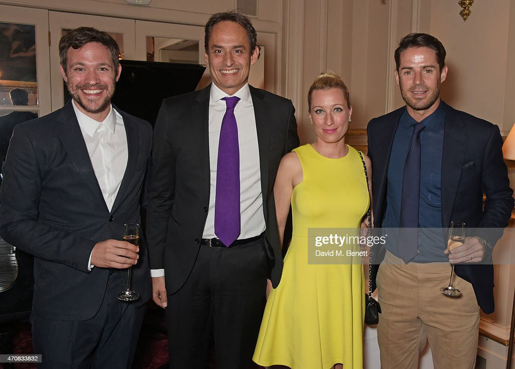 Will Young Andre Konsbruck Director of Audi UK Christine Sieg and Jamie Redknapp attend as Audi hosts the opening night performance of 'La Fille Mal...