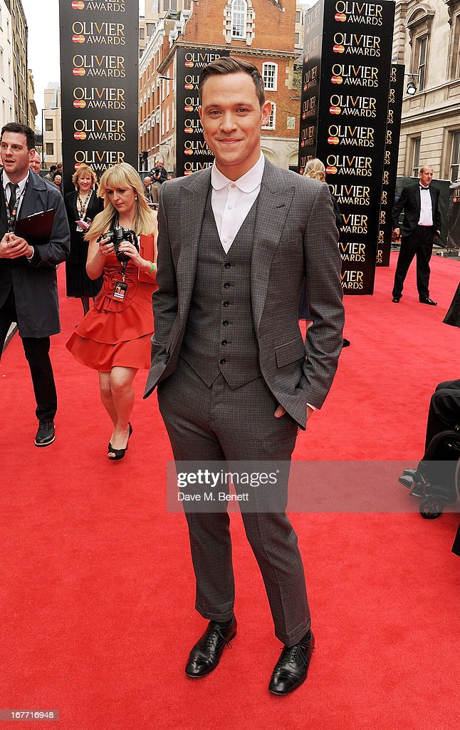 Will Young arrives at The Laurence Olivier Awards 2013 at The Royal Opera House on April 28, 2013 in London, England.