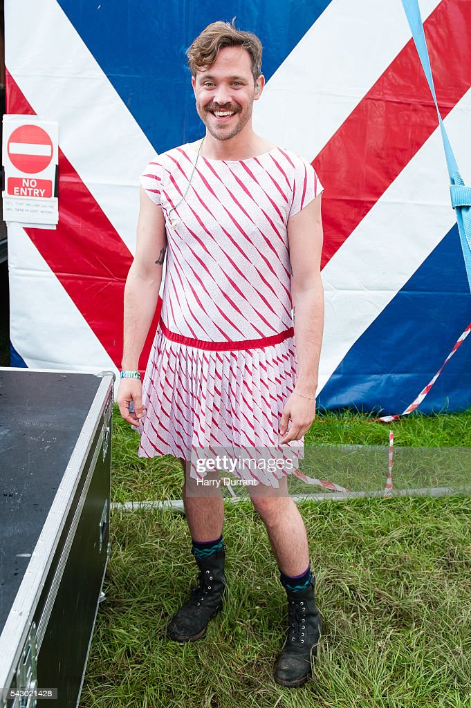 Will Young attends the Glastonbury Festival 2016 at Worthy Farm, Pilton on June 25, 2016 in Glastonbury, England.