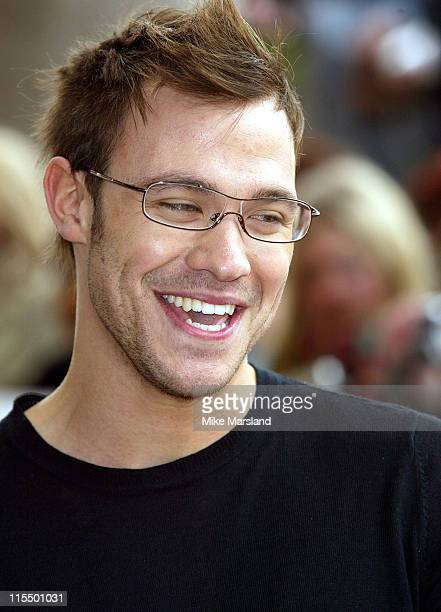 Will Young during 2004 Capital FM Awards Arrivals at Royal Lancaster Hotel in London Great Britain