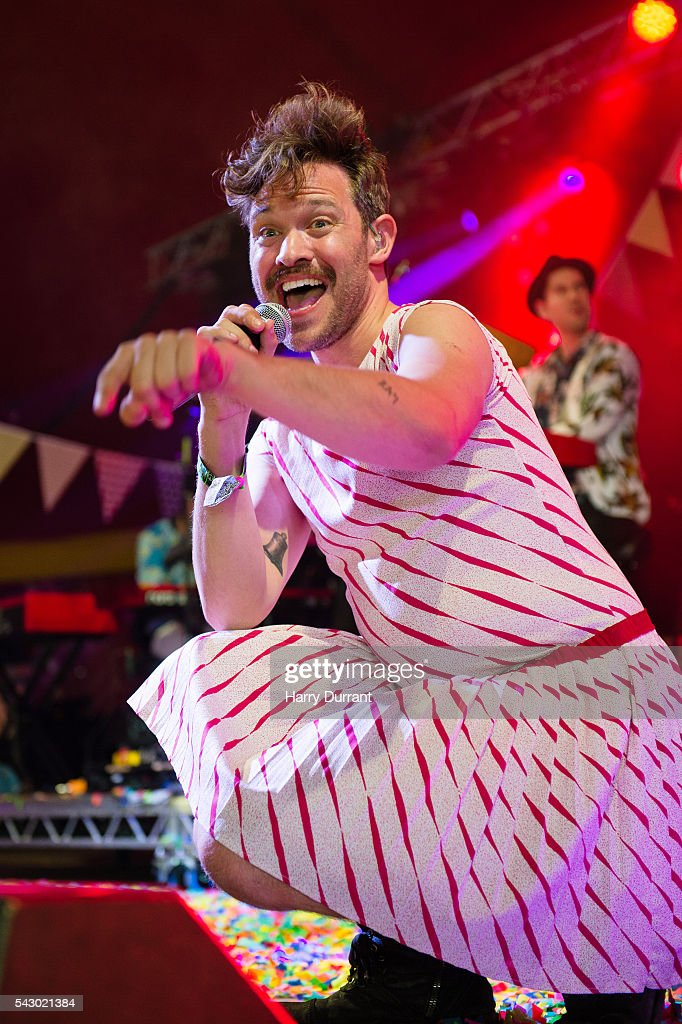 Will Young performs on The Avalon Stage, Glastonbury Festival 2016 at Worthy Farm, Pilton on June 25, 2016 in Glastonbury, England.