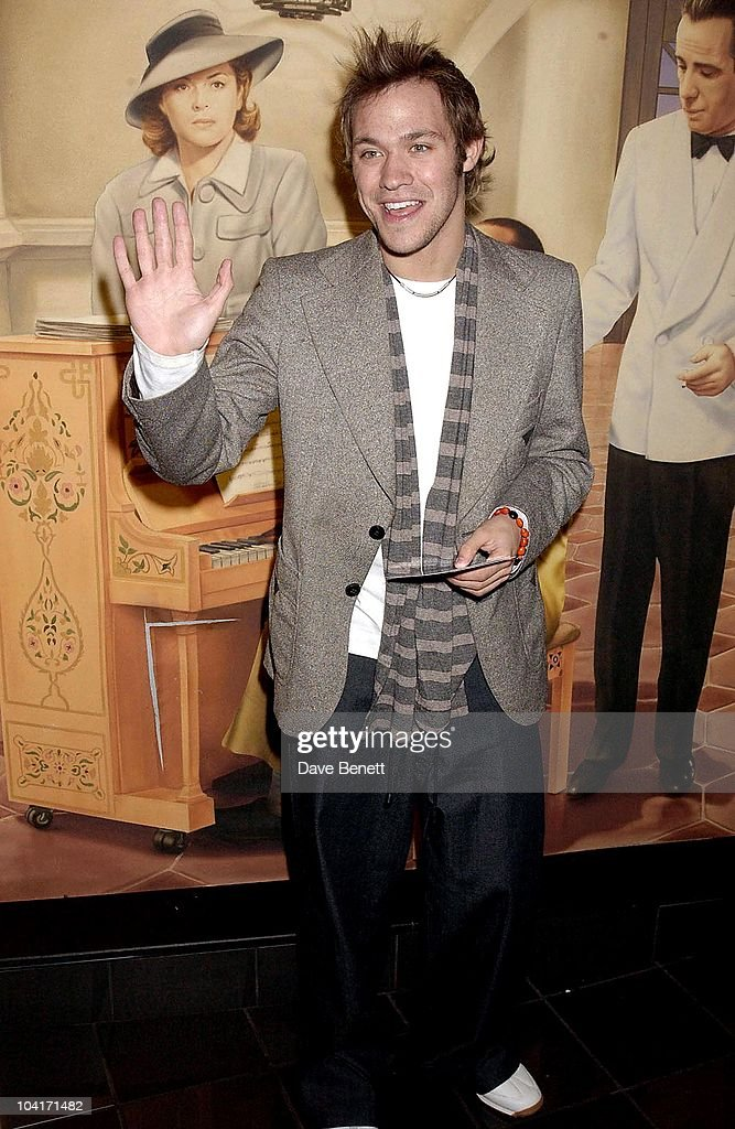 Will Young, Premiere Of 'S Club' Debut Movie 'Seeing Double' At The Warner Village Cinema In London