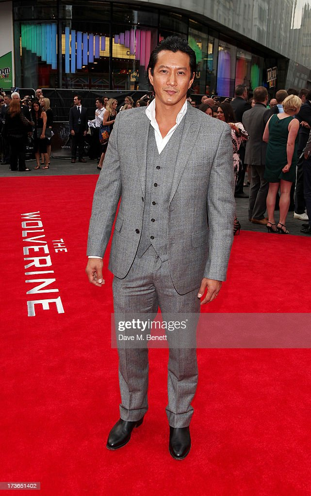 Will Yun Lee attends the UK Premiere of 'The Wolverine' at Empire Leicester Square on July 16, 2013 in London, England.