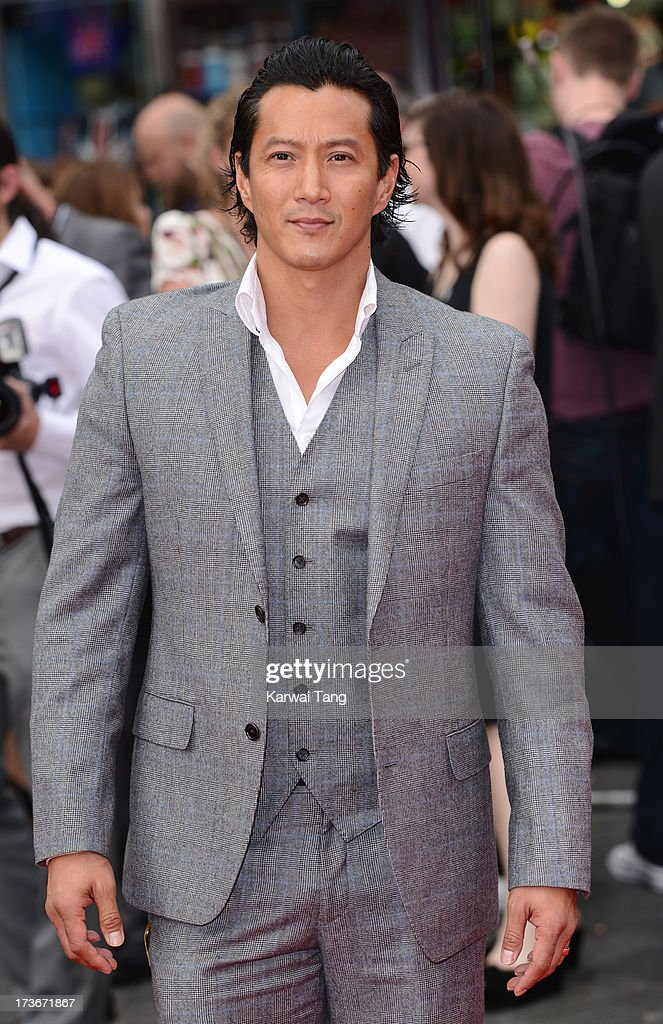 <a gi-track='captionPersonalityLinkClicked' href=/galleries/search?phrase=Will+Yun+Lee&family=editorial&specificpeople=795196 ng-click='$event.stopPropagation()'>Will Yun Lee</a> attends the UK premiere of 'The Wolverine' at Empire Leicester Square on July 16, 2013 in London, England.