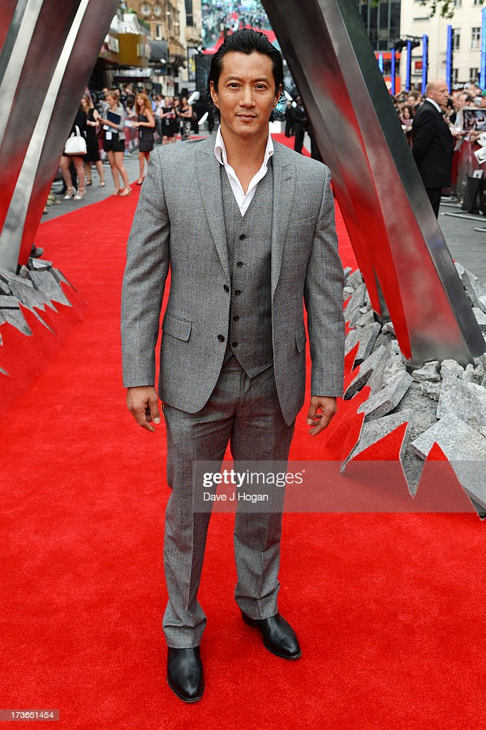 Will Yun Lee attends the UK premiere of 'The Wolverine' at The Empire Leicester Square on July 16, 2013 in London, England.