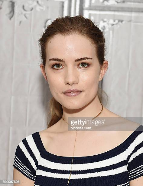 Willa Fitzgerald attends AOL Build Presents Willa Fitzgerald Discussing The Show 'Scream' And Film 'Freak Show' at AOL HQ on August 15 2016 in New...