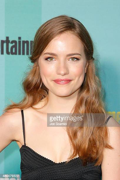 Willa Fitzgerald attends ComicCon International 2015 Entertainment Weekly ComicCon Celebration at Float at Hard Rock Hotel San Diego on July 11 2015...