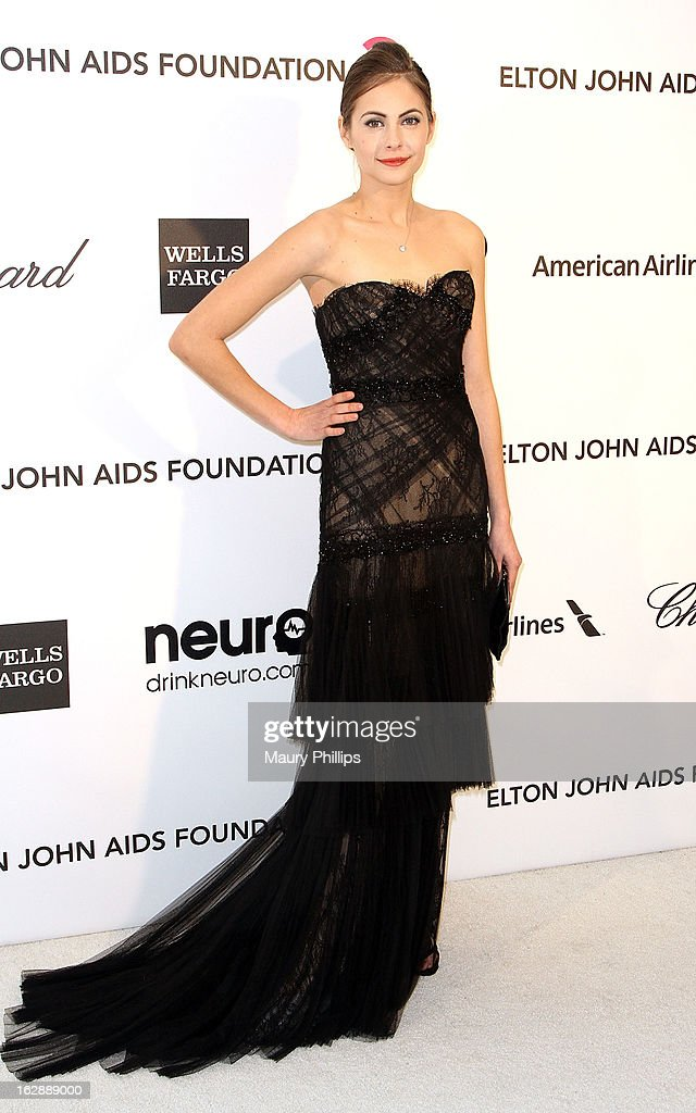Willa Holland arrives at the 21st Annual Elton John AIDS Foundation Academy Awards Viewing Party at Pacific Design Center on February 24, 2013 in West Hollywood, California.
