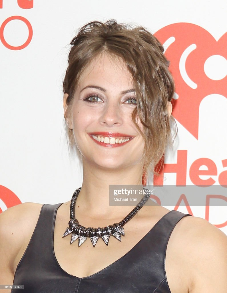 Willa Holland arrives at the iHeartRadio Music Festival press room Day 2 held on September 21 2013 in Las Vegas Nevada