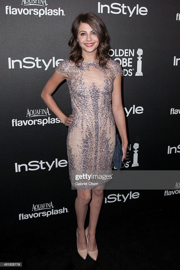 <a gi-track='captionPersonalityLinkClicked' href=/galleries/search?phrase=Willa+Holland&family=editorial&specificpeople=737113 ng-click='$event.stopPropagation()'>Willa Holland</a> attends The Hollywood Foreign Press Association (HFPA) And InStyle Celebrates The 2014 Golden Globe Awards Season at Fig & Olive Melrose Place on November 21, 2013 in West Hollywood, California.