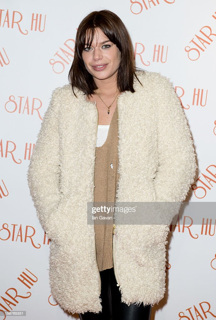 Willa Keswick attends the Star Hu store launch party on November 20, 2012 in London, United Kingdom.