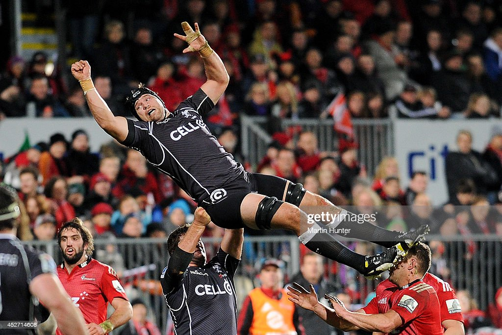 Super Rugby Semi Final - Crusaders v Sharks