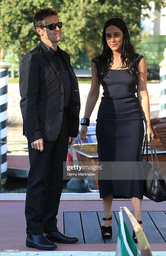 Willem Dafoe and wife Giada Colagrande attend day 3 of the 70th Venice International Film Festival on August 30, 2013 in Venice, Italy.