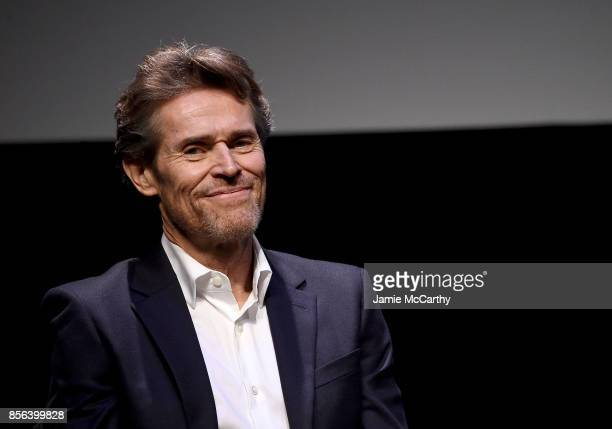 Willem Dafoe attends 55th New York Film Festival 'The Florida Project' at Alice Tully Hall on October 1 2017 in New York City