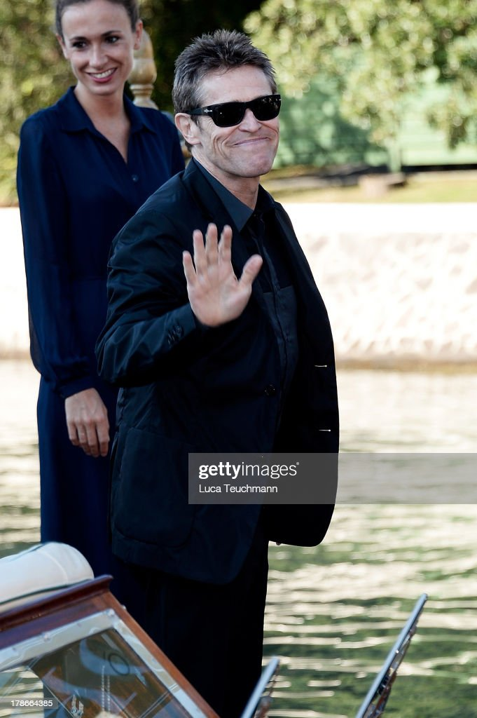 <a gi-track='captionPersonalityLinkClicked' href=/galleries/search?phrase=Willem+Dafoe&family=editorial&specificpeople=203171 ng-click='$event.stopPropagation()'>Willem Dafoe</a> attends day 3 of the 70th Venice International Film Festival on August 30, 2013 in Venice, Italy.