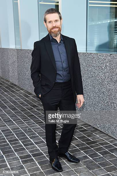 Willem Dafoe attends Prada Menswear Spring/Summer 2016 Cocktail Party at Fondazione Prada at Fondazione Prada on June 21 2015 in Milan Italy