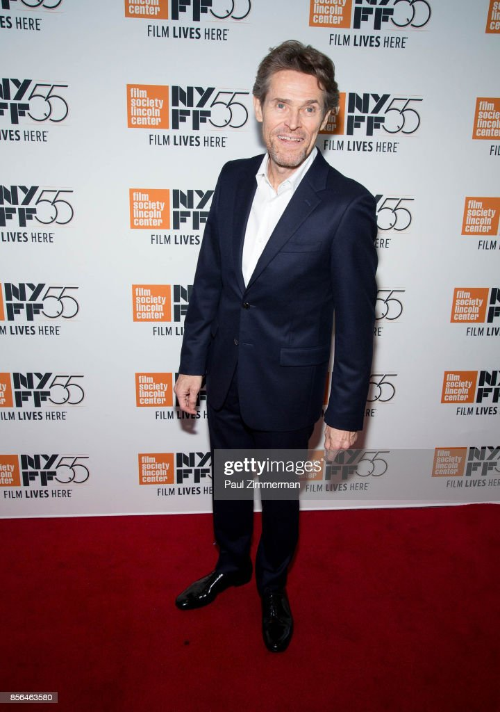 Willem Dafoe attends the 55th New York Film Festival - 'The Florida Project' at Alice Tully Hall on October 1, 2017 in New York City.