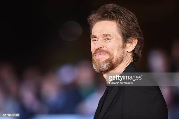 Willem Dafoe attends the 'A Most Wanted Man' red carpet during the 9th Rome Film Festival at Auditorium Parco Della Musica on October 25 2014 in Rome...