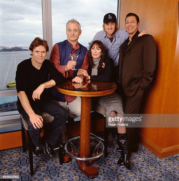 Willem Dafoe Bill Murray Anjelica Huston Owen Wilson and Jeff Goldblum