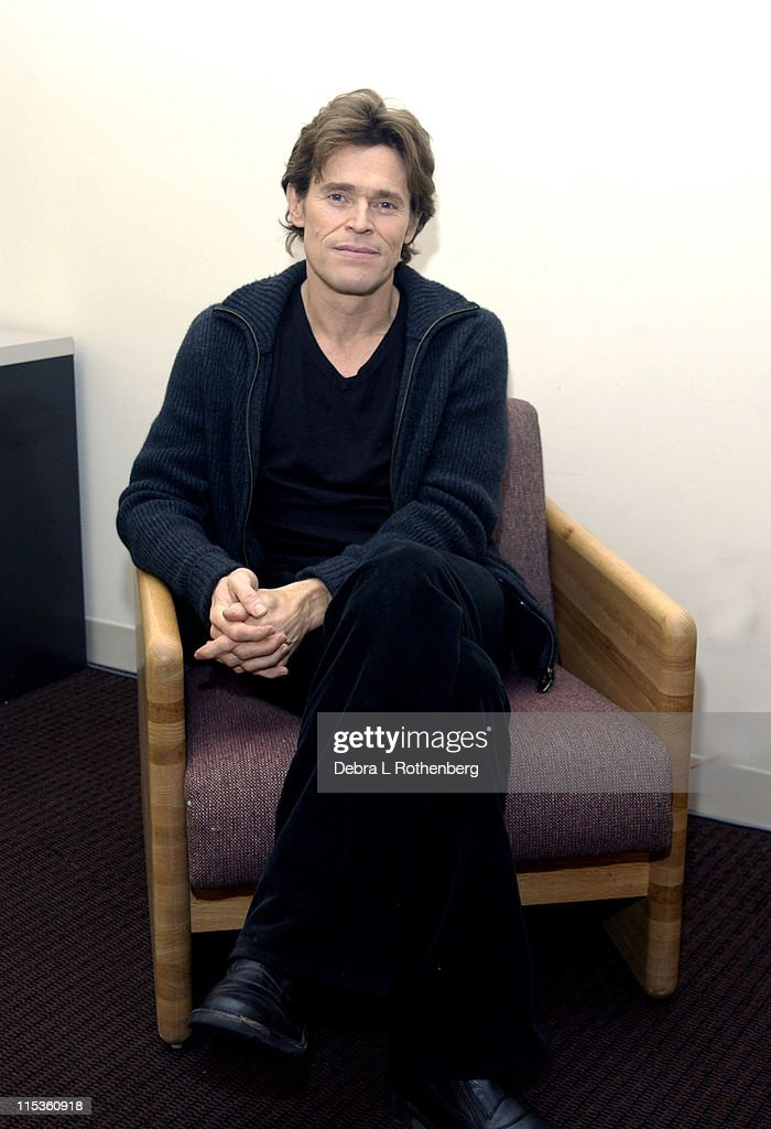 Willem Dafoe Sighting In NYC - December 7, 2004
